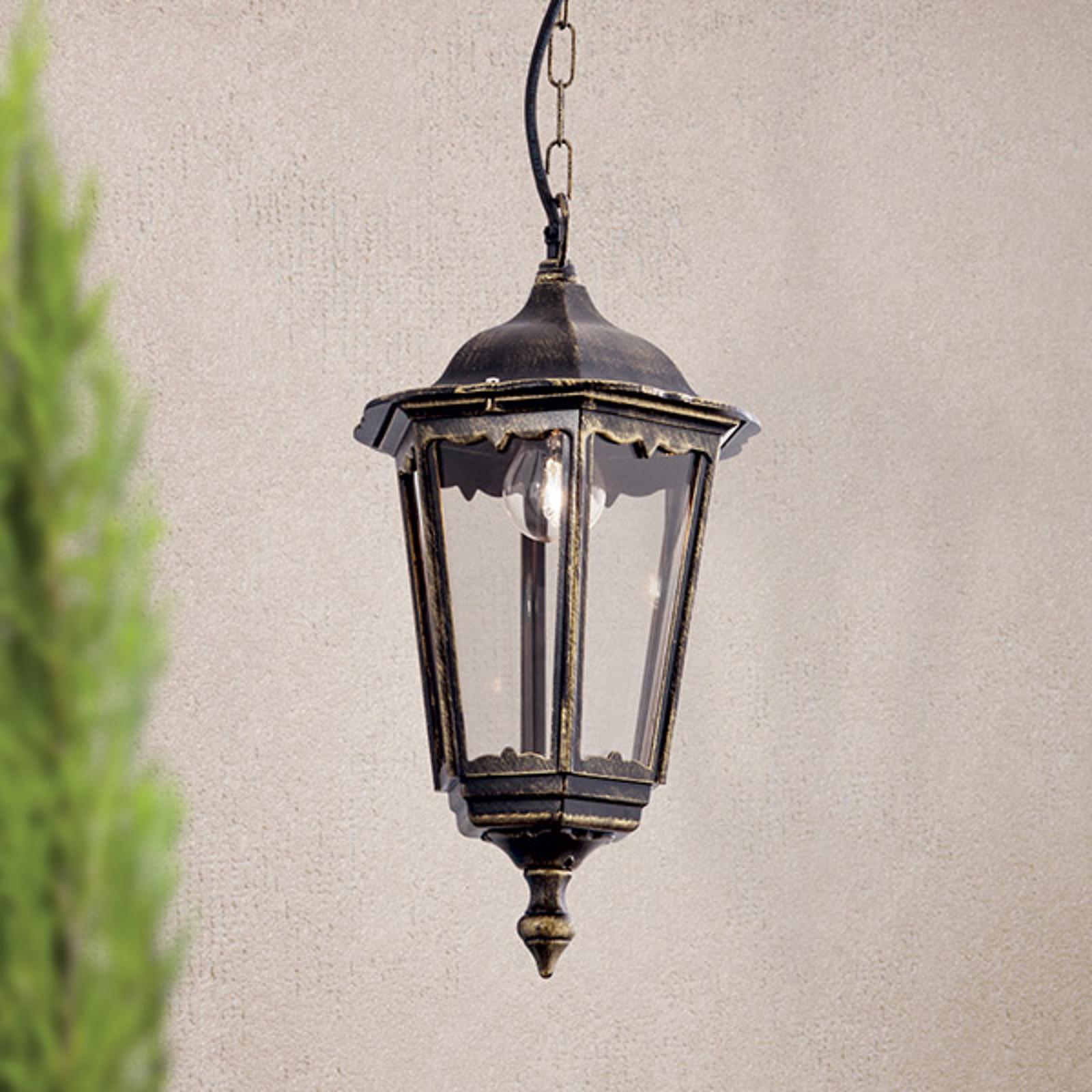 Lampa wisząca FABIO na zewnątrz