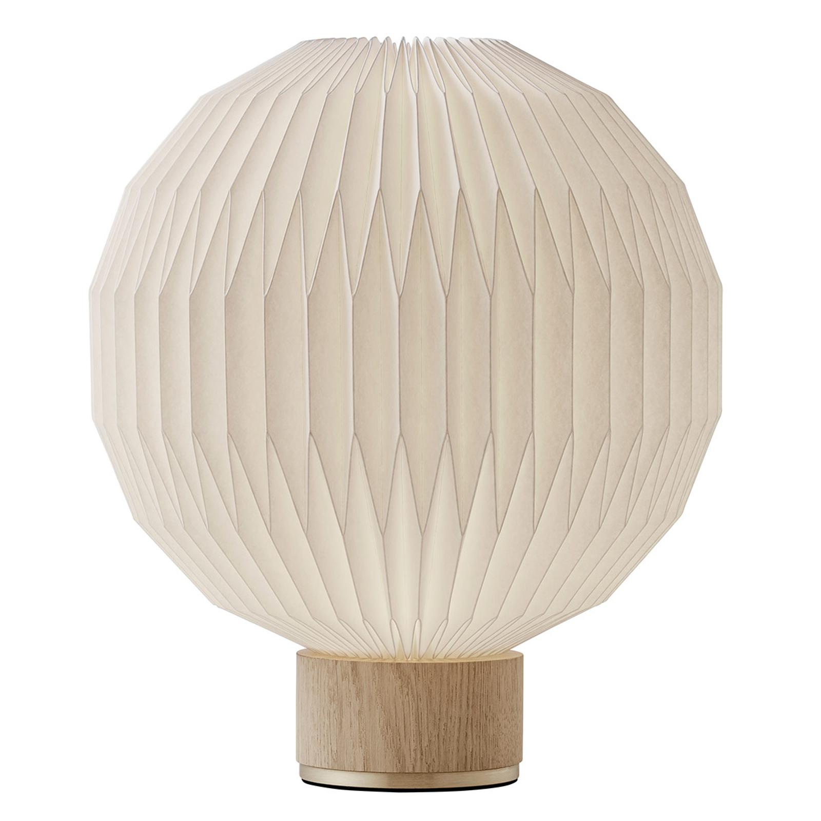 LE KLINT 375 stolní lampa papírové stínidlo 38 cm