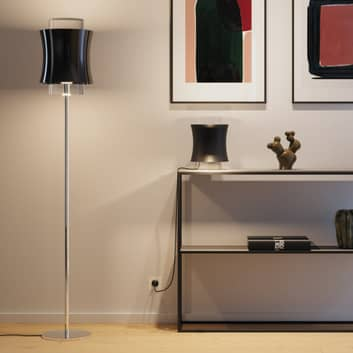 Prandina Fez F1 lampa podłogowa, kryształowe szkło