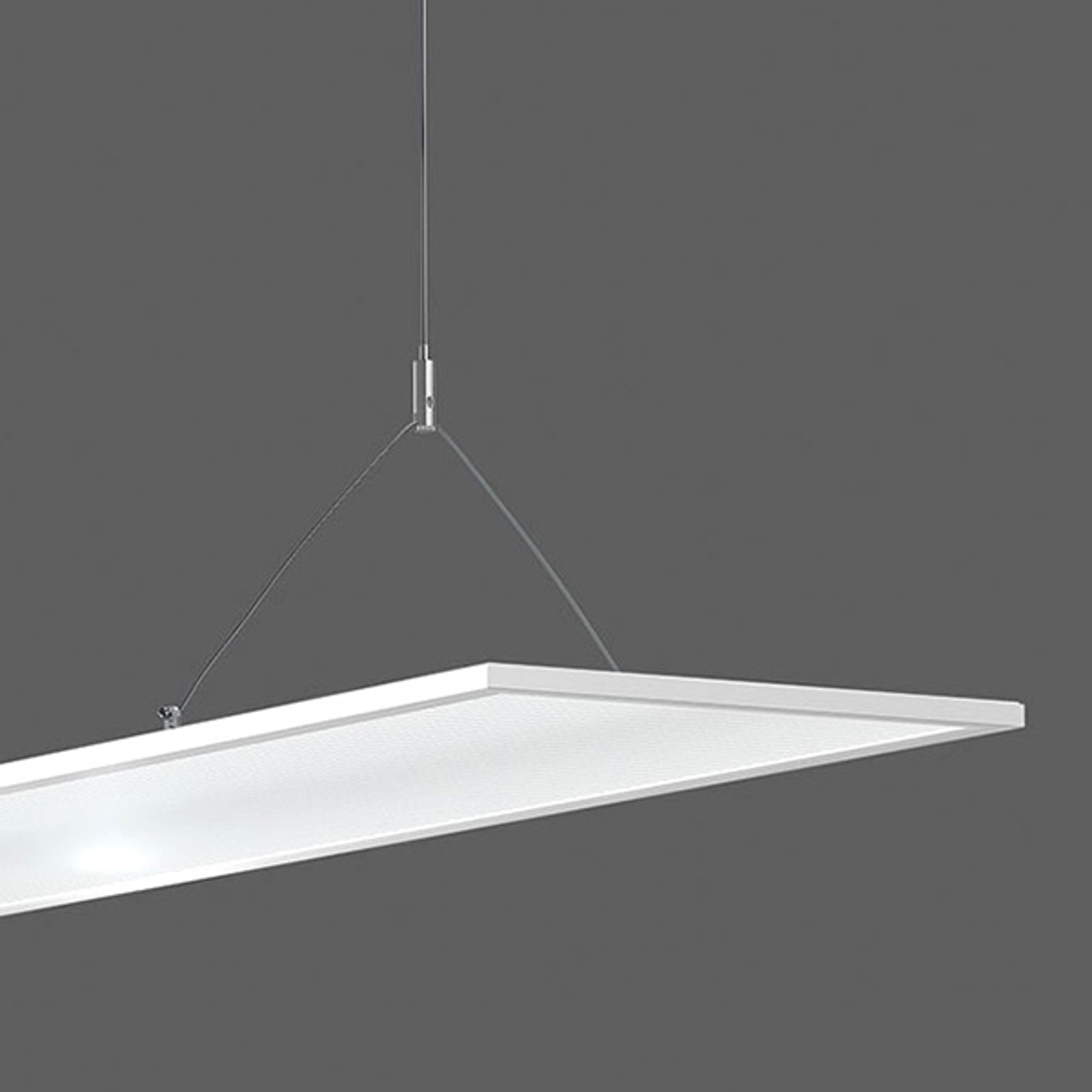 Y-tauopphengssystem for LED-panel