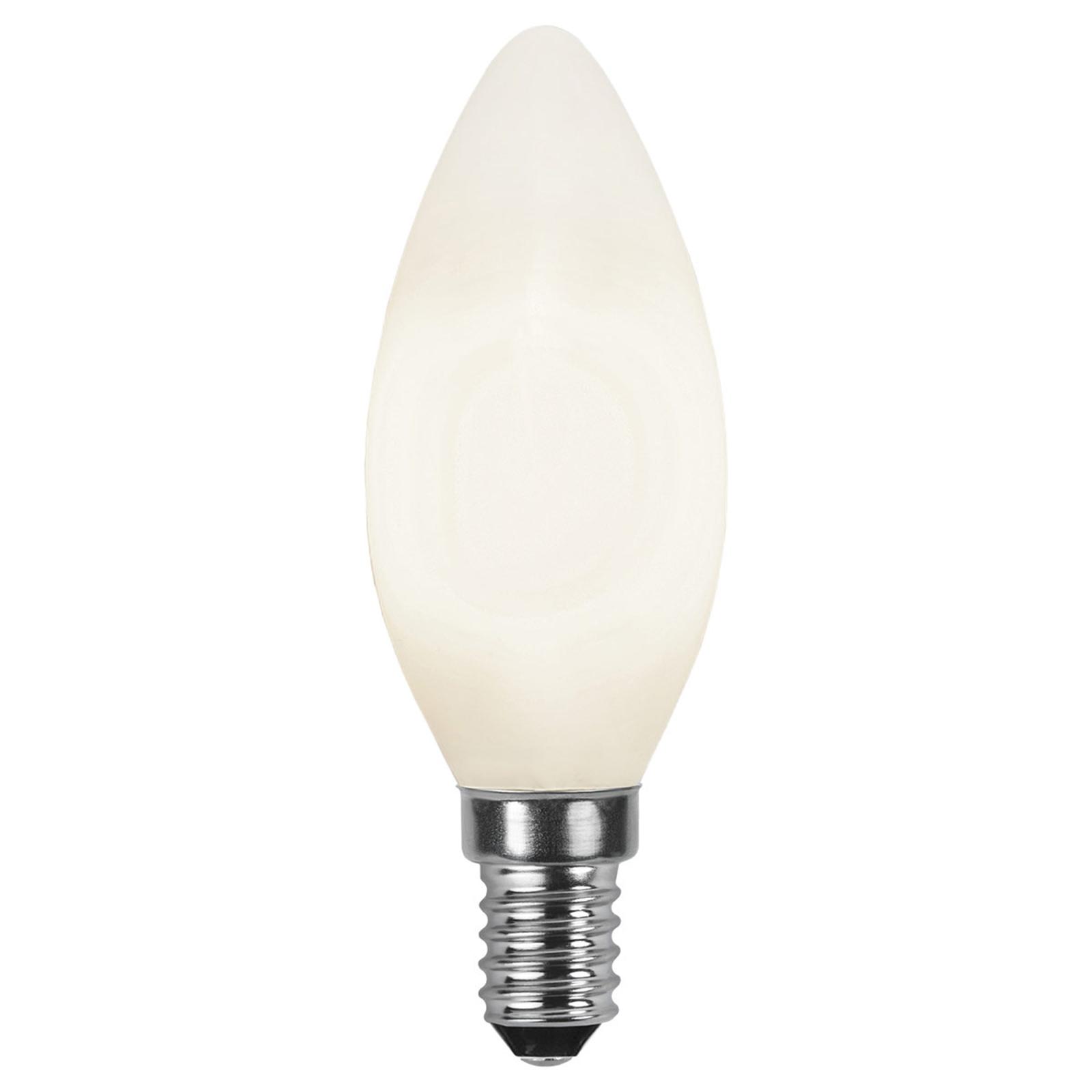 LED-Kerzenlampe E14 2.700K opal Ra90 4,7W