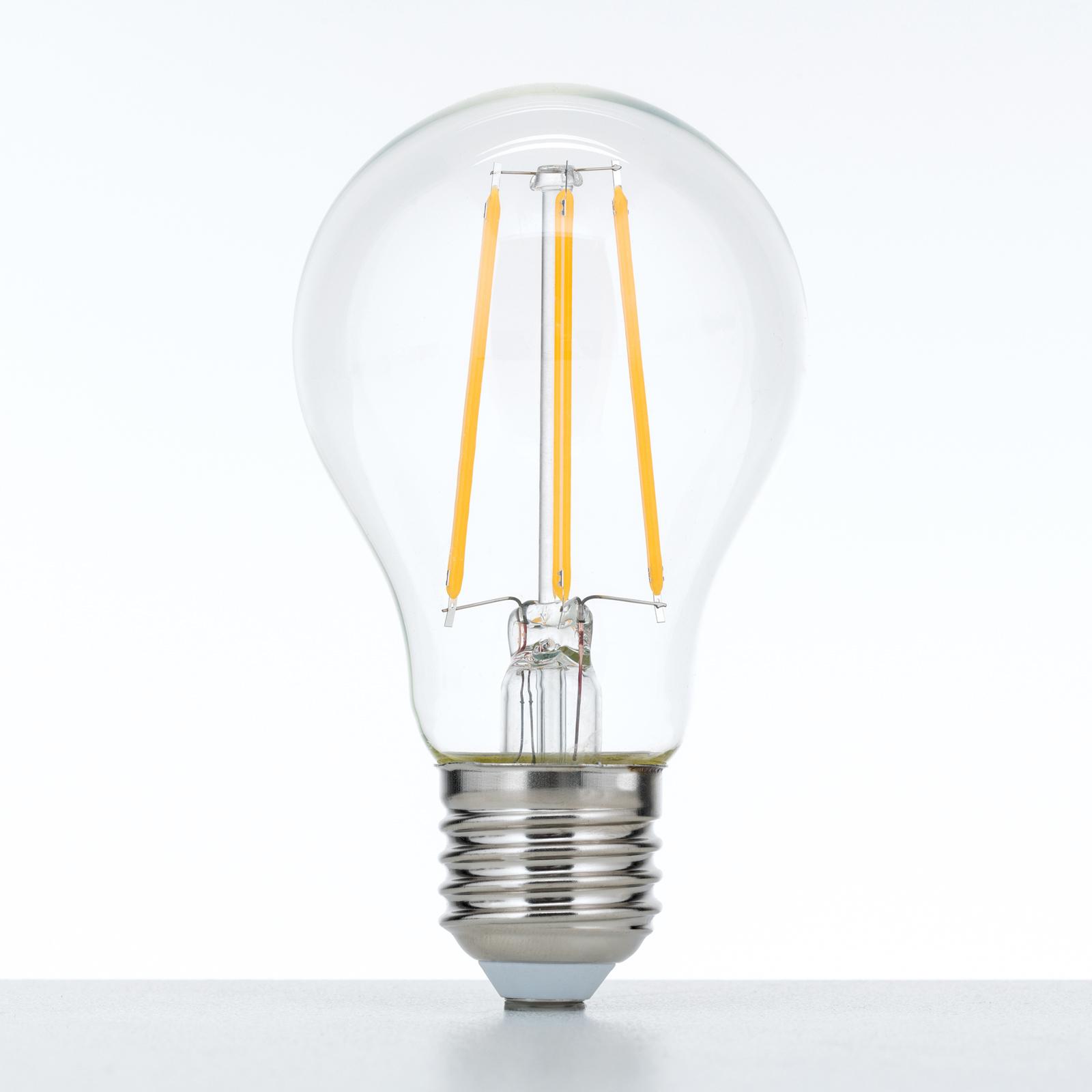 LED-Filament-Lampe E27 8W, warmweiß, dimmbar