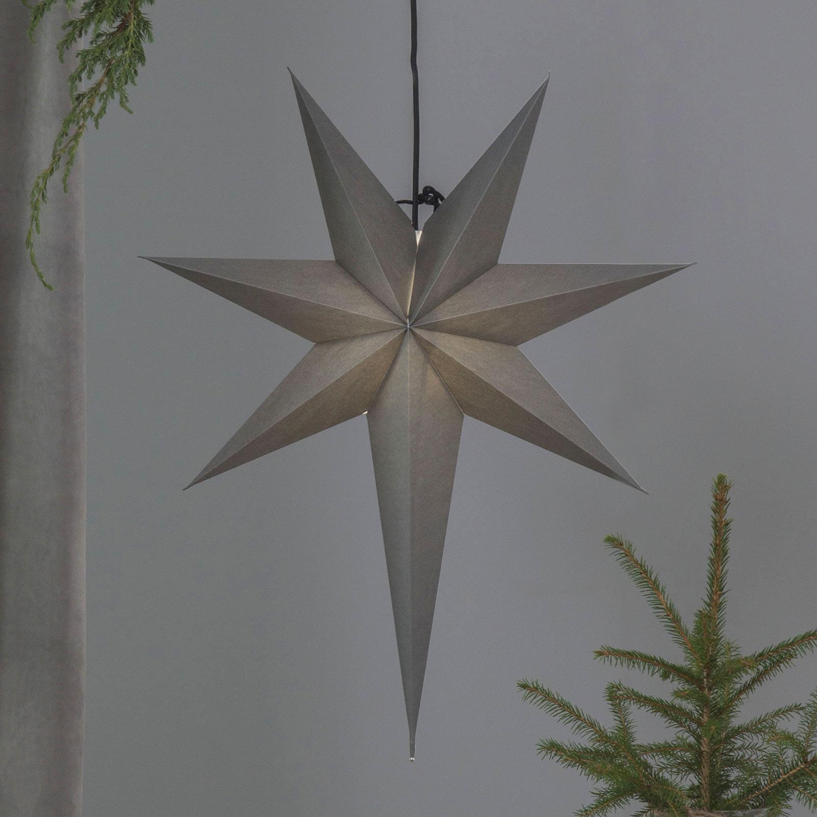 Pappersstjärna Ozen med lång udd