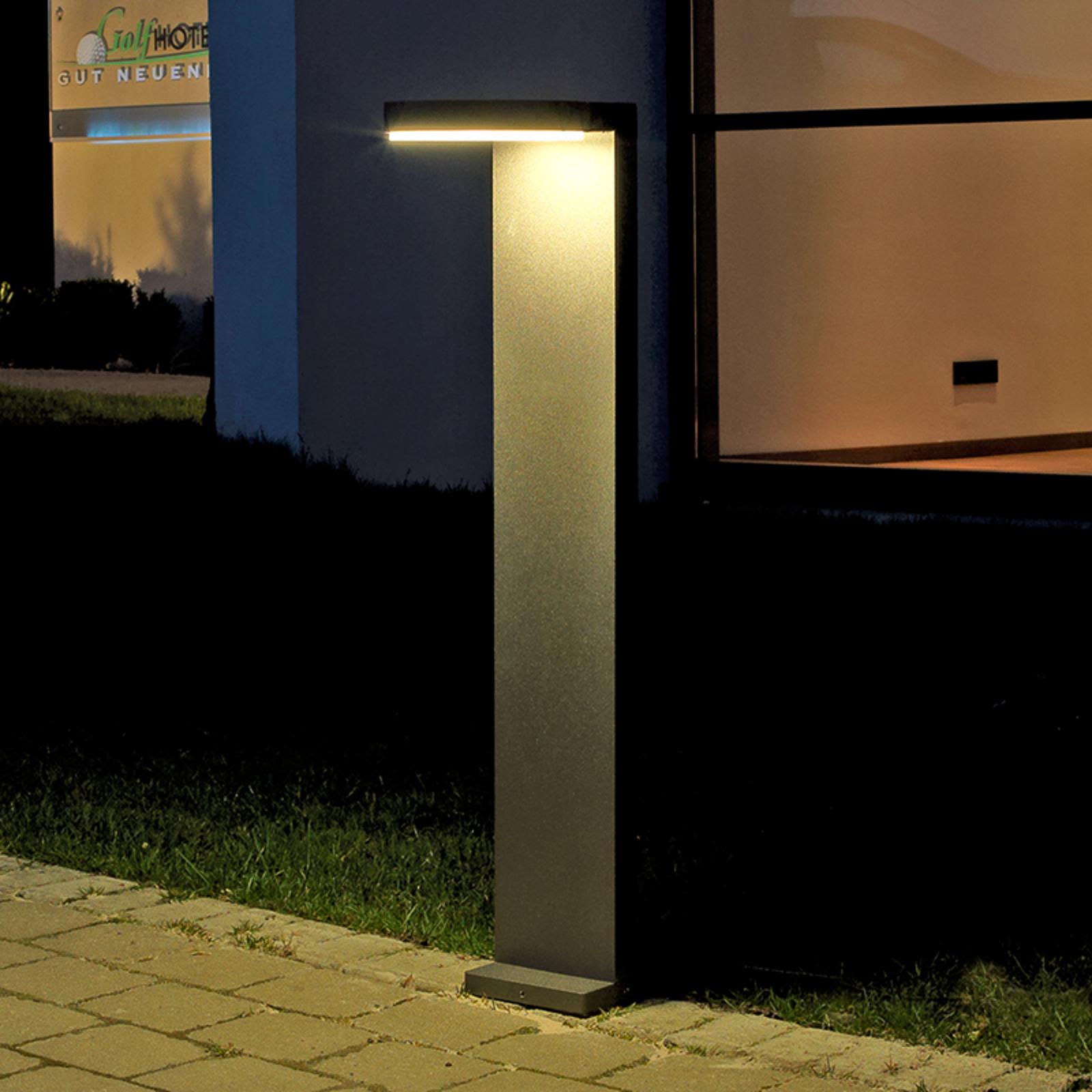 Aluminium-LED tuinpadverlichting Tamar antraciet