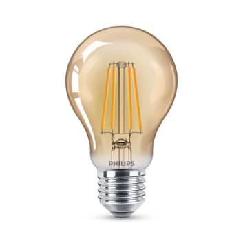 Philips LED-Lampe Filament E27 A60 4W 2.500K