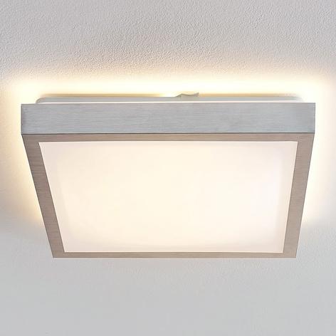 Lindby Margit plafoniera LED angolare, 37,5 cm