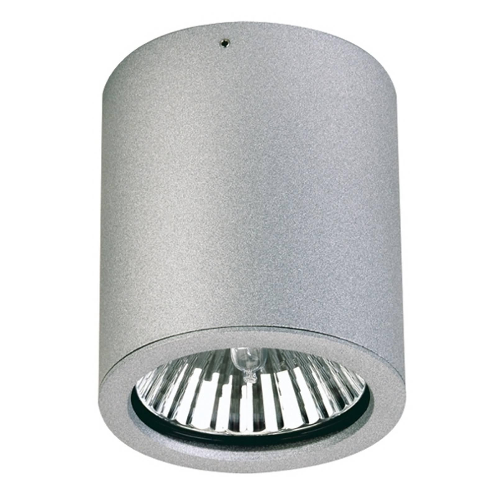 Reflektor sufitowy zewnętrzny Gavino srebrny