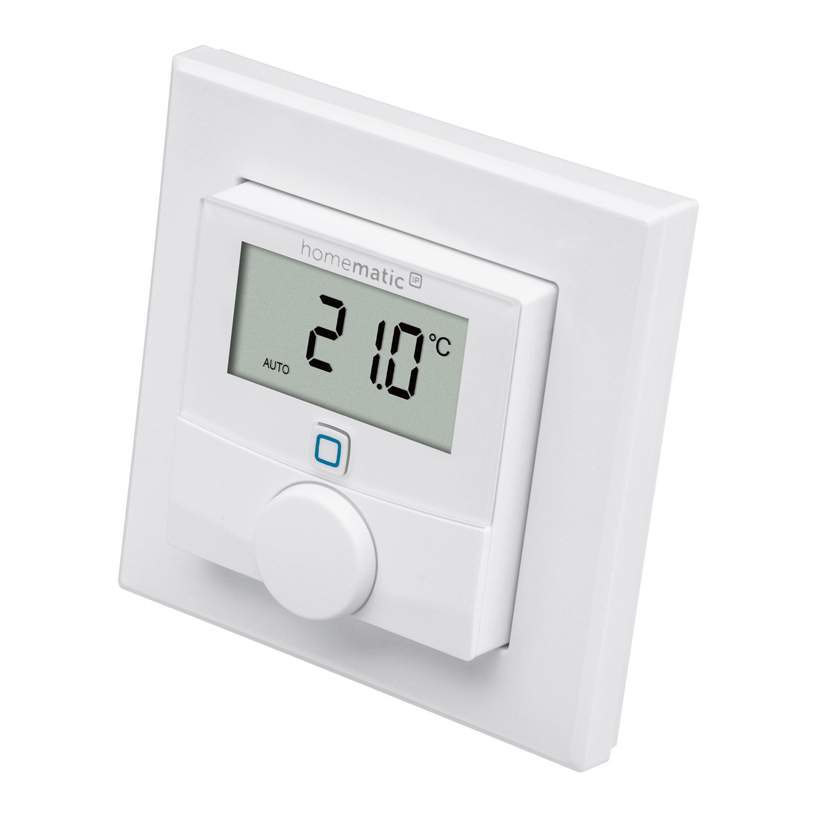 Homematic IP nástěnný termostat, senzor vlhkosti