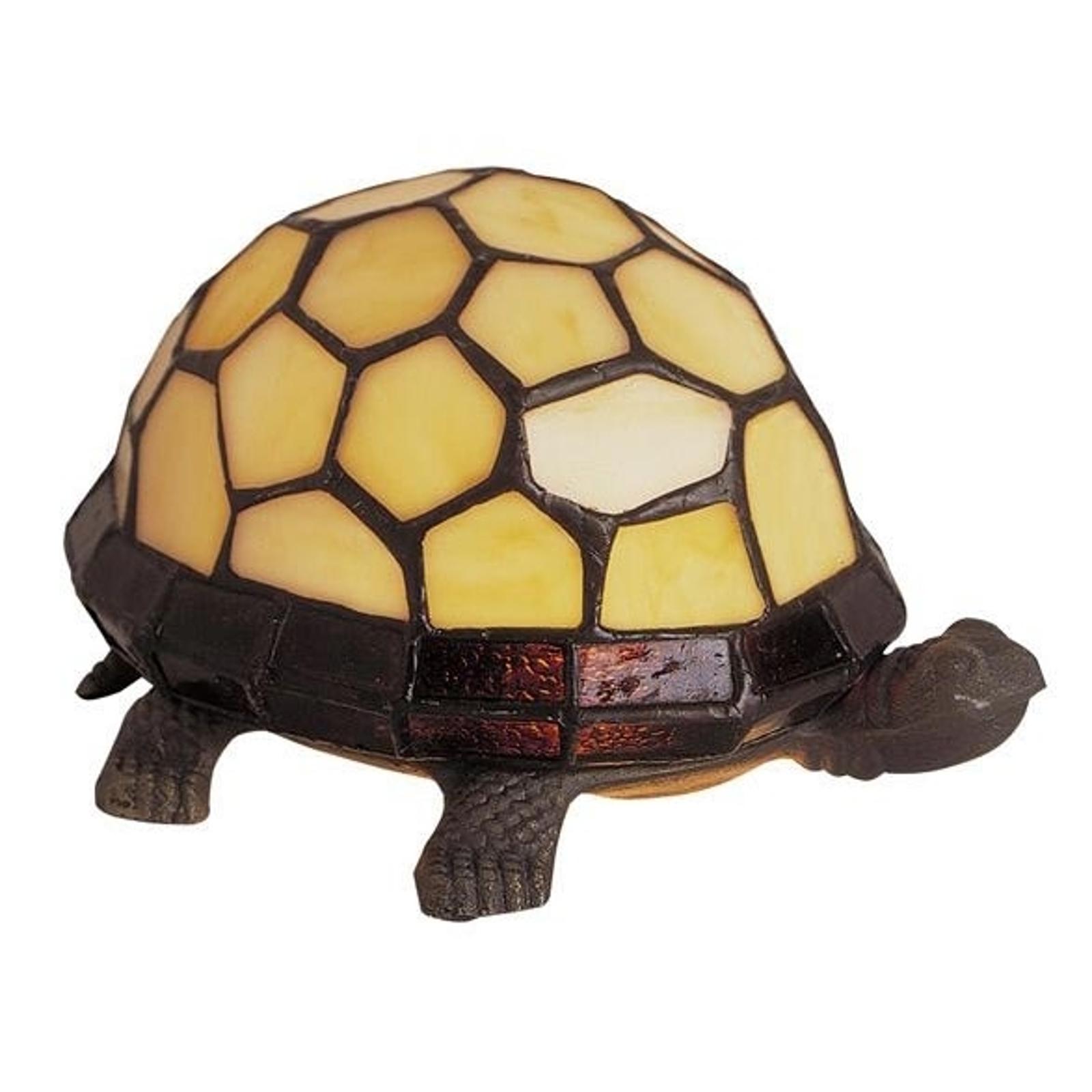 TORTUE lampa stołowa w kształcie żółwia