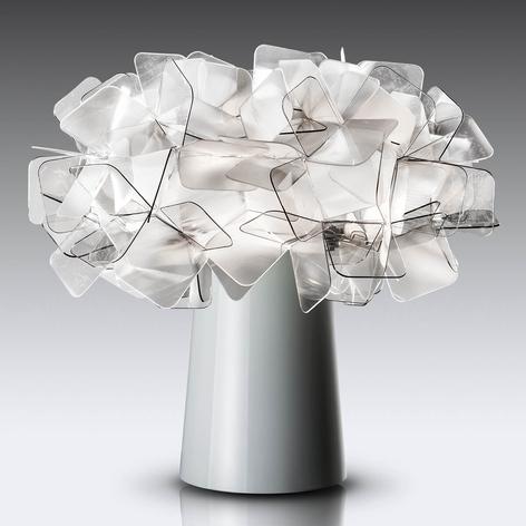 Slamp Clizia lámpara de mesa de diseño, gris humo