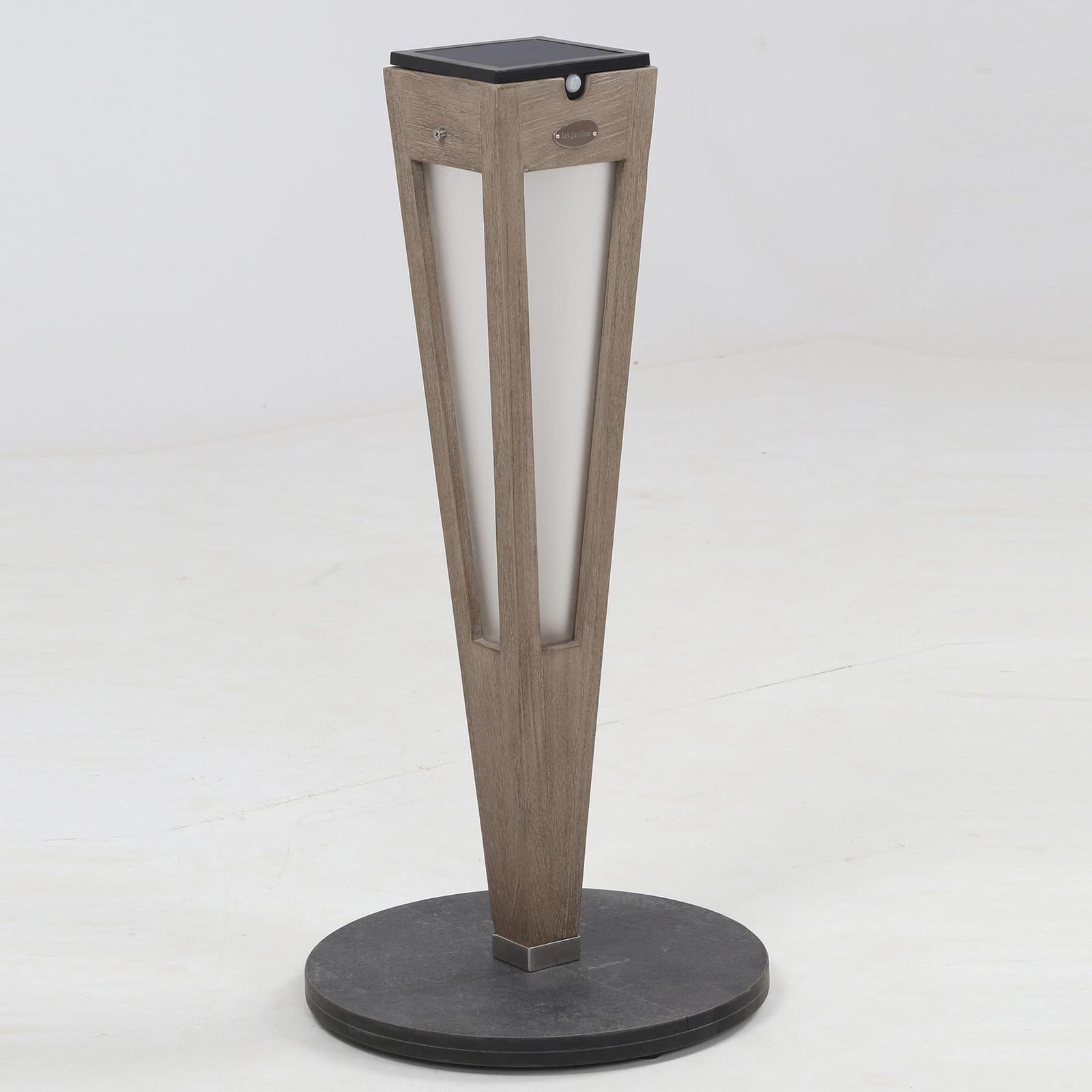 LED-Solarfackel Tecka mit Sensor, 52 cm, Duratek