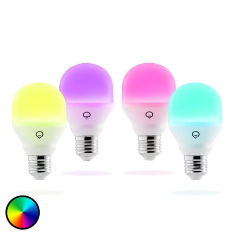 LIFX Mini Color LED lamp E27 9W, 4 stuks set
