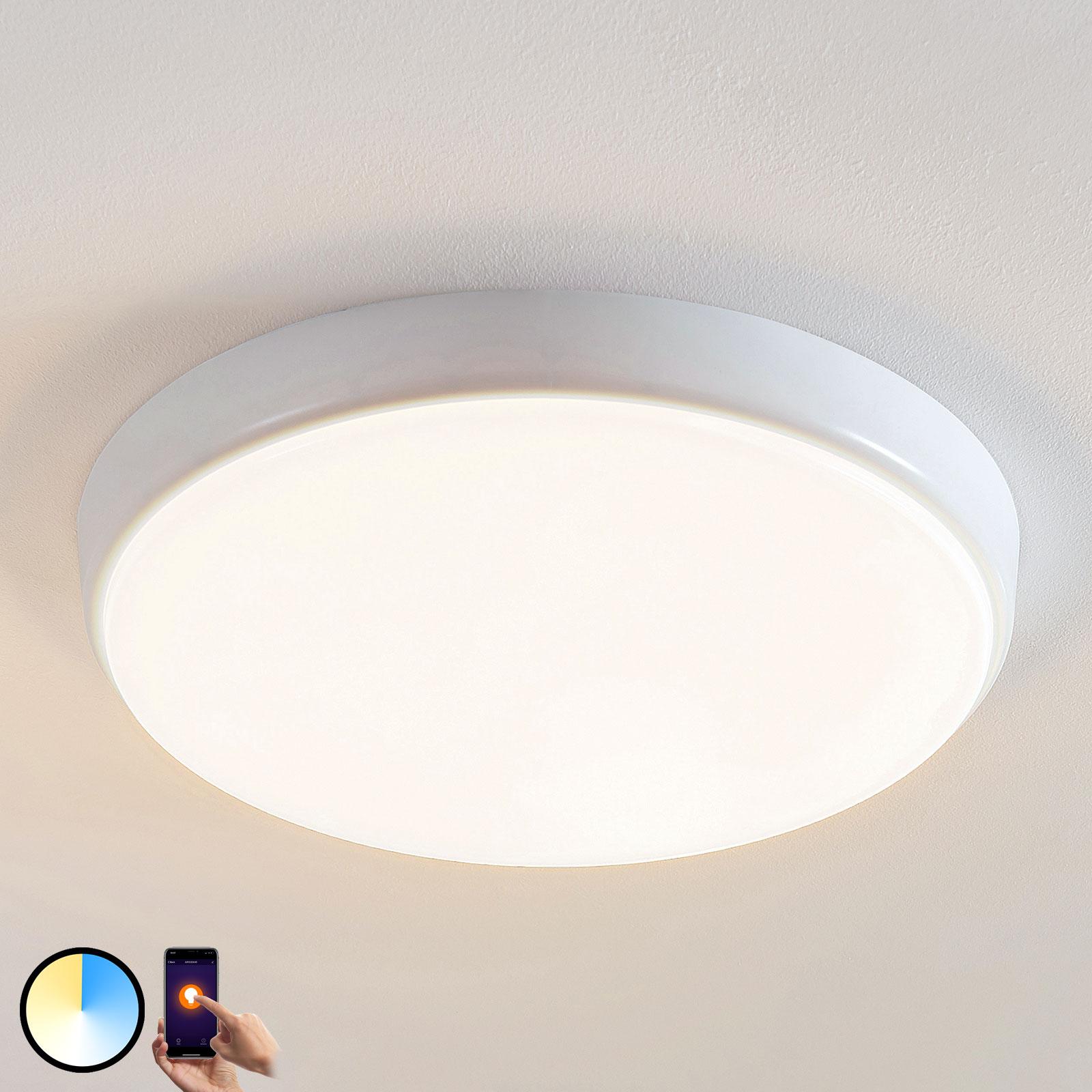 Arcchio Finn LED-Deckenleuchte, Smart, Ø 40 cm