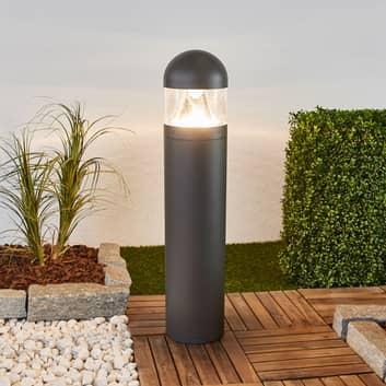 LED-Wegelampe Meva mit hellem Lichtschein, rund