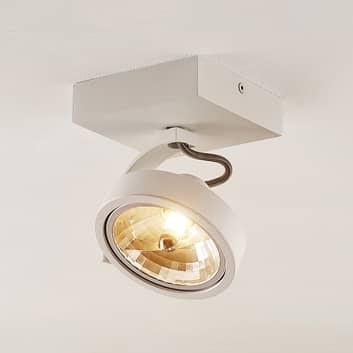 Arcchio Dagur-spotlight, svingbar i hvitt
