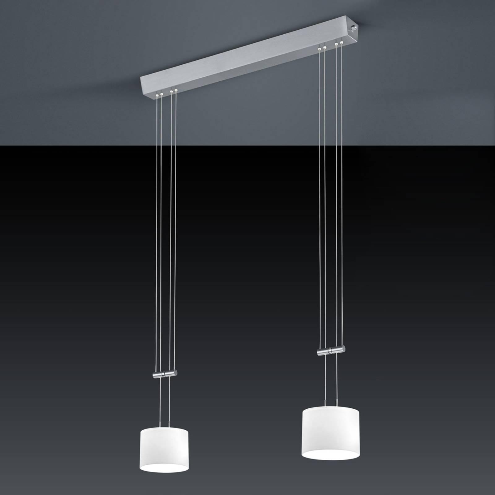 BANKAMP Grazia LED hanglamp, ZigBee, 2 lamp