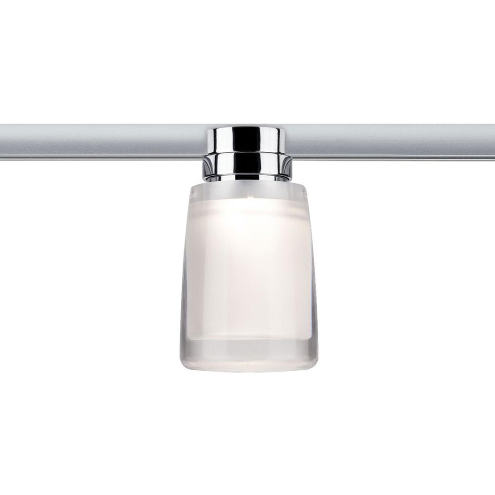 Paulmann URail Safira LED spot met acrylkap