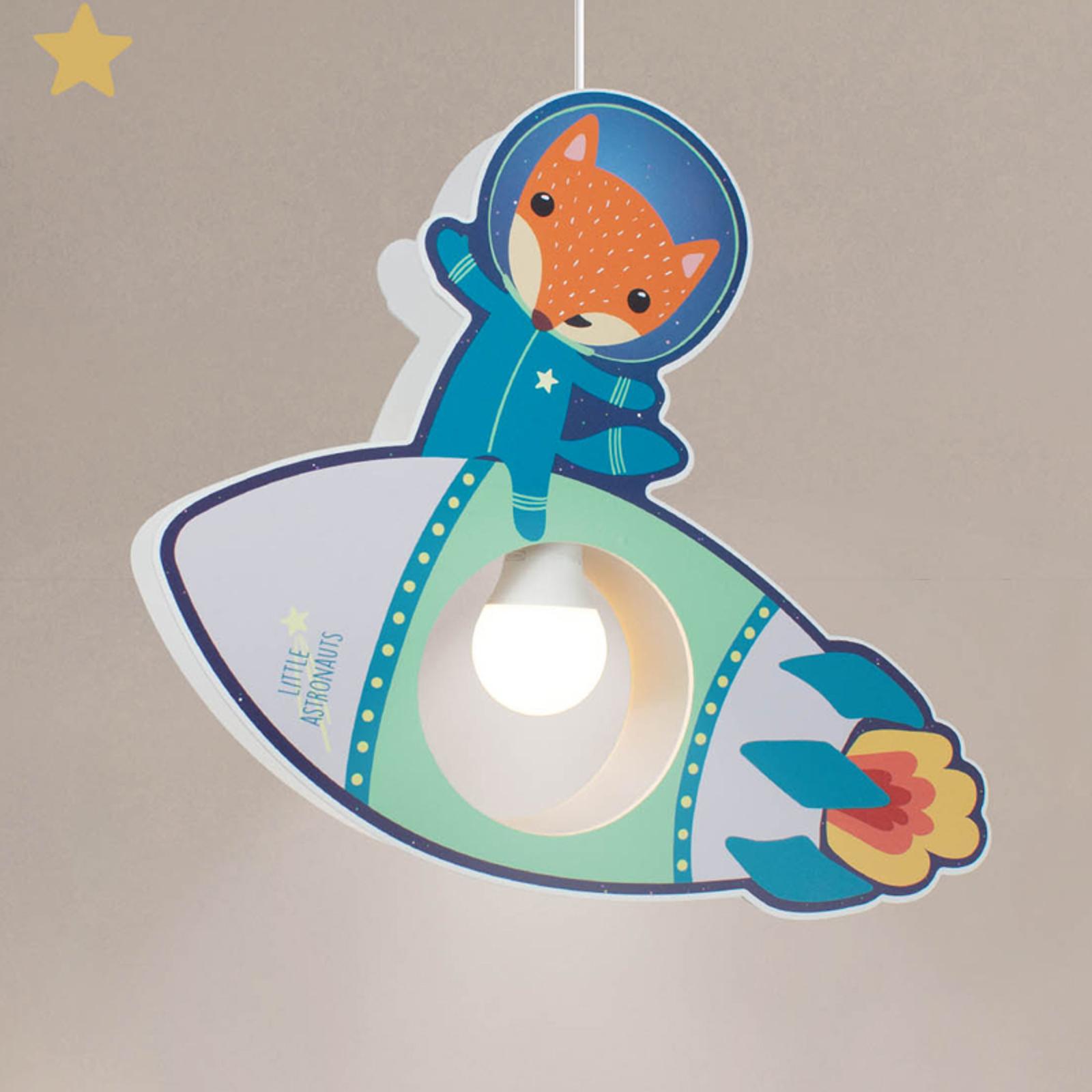 Pendelleuchte Little Astronauts Rakete