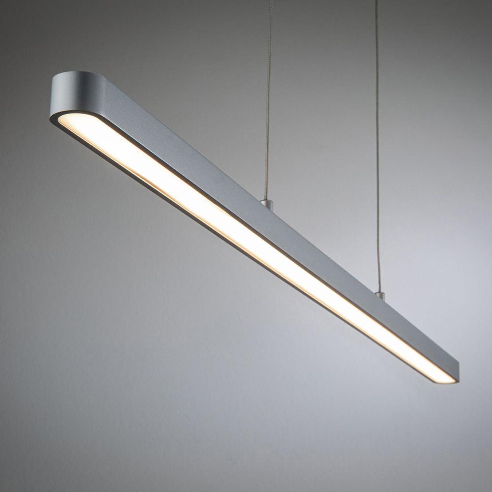 Paulmann URail Lento LED pendant, matt chrome_7601900_1