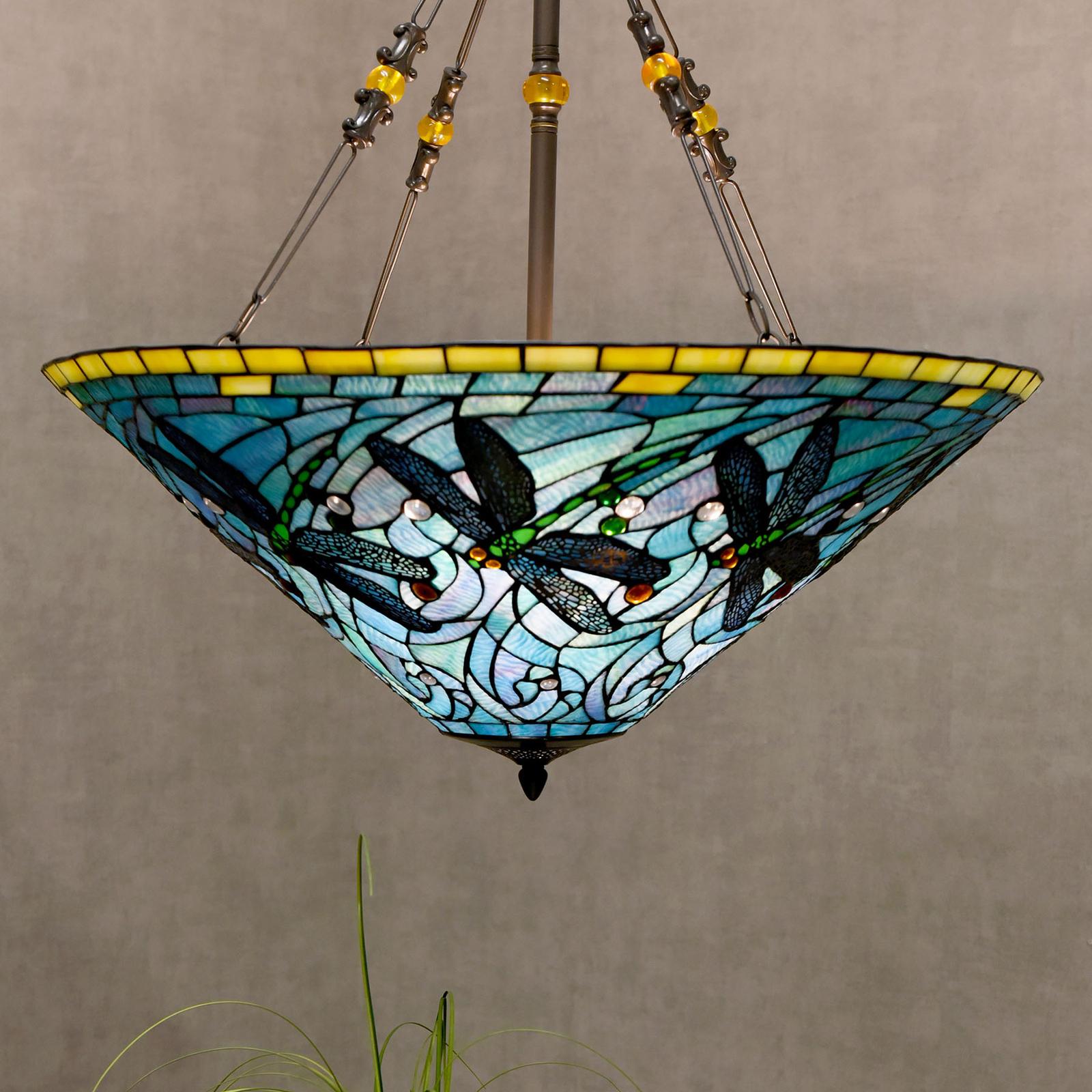 Lampa wisząca 5975, kolorowy styl Tiffany