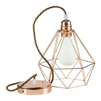 SEGULA Diamant lampa wisząca miedziana
