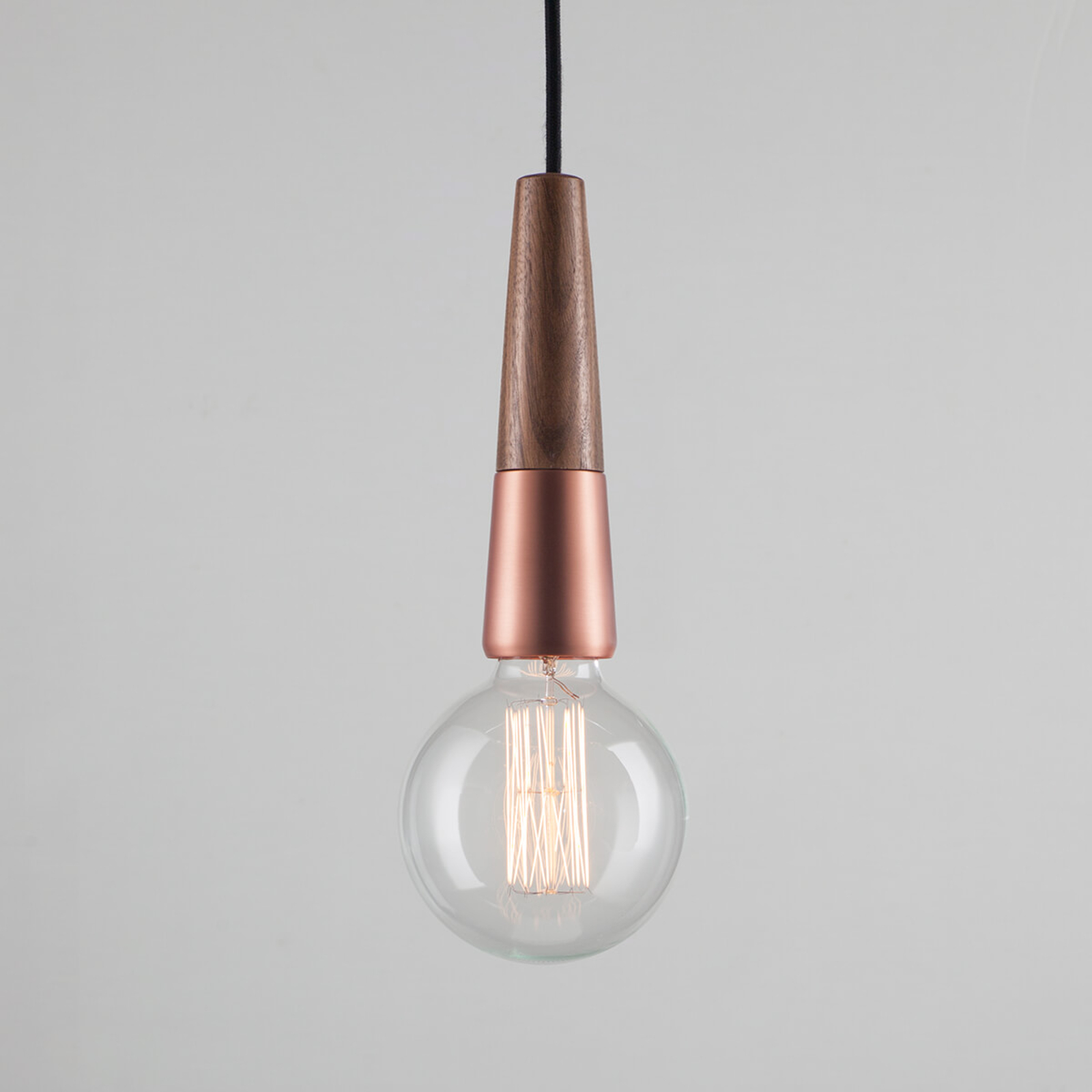 Stripped - mooie hanglamp in materiaalmix
