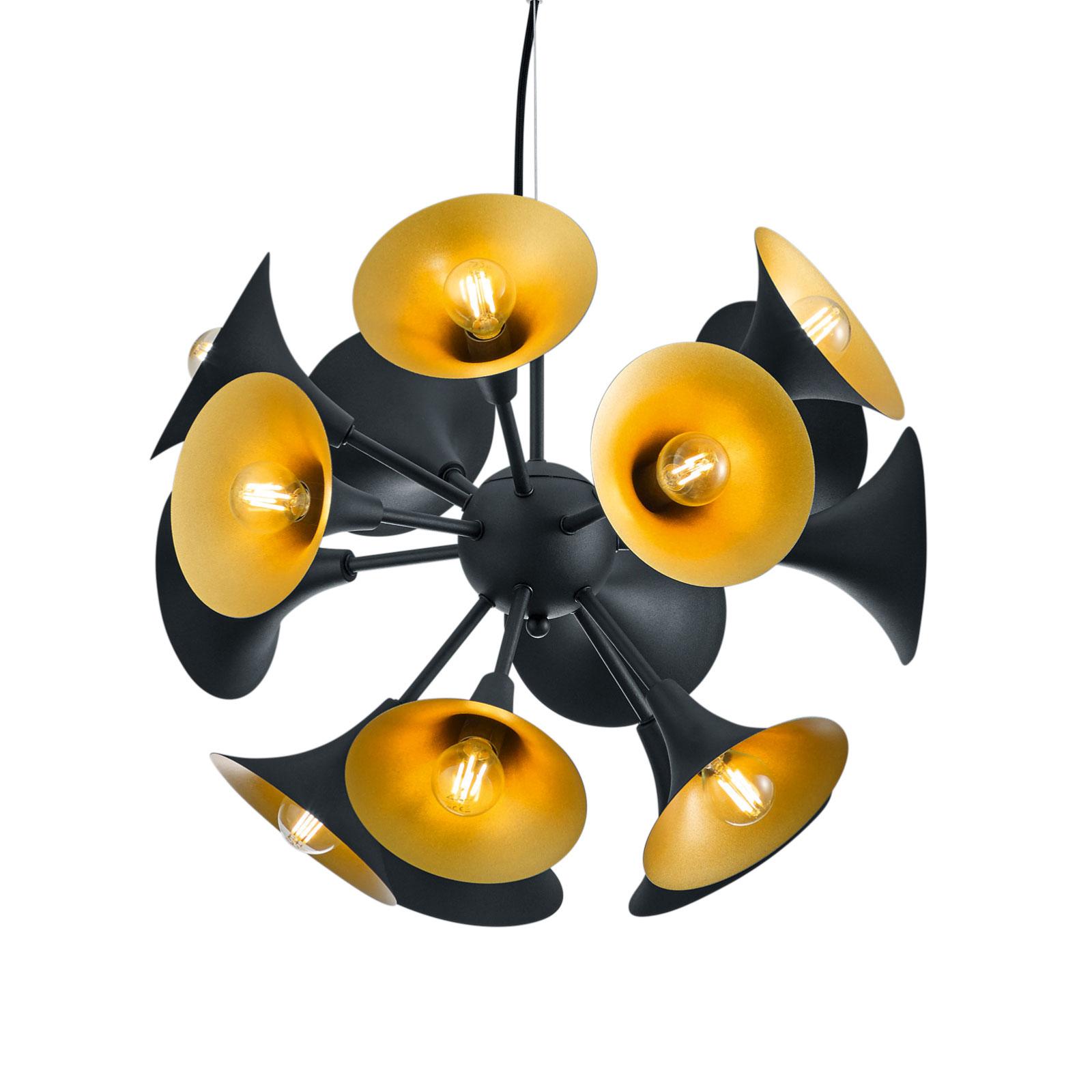 Lampa wisząca Orchestra, czarna