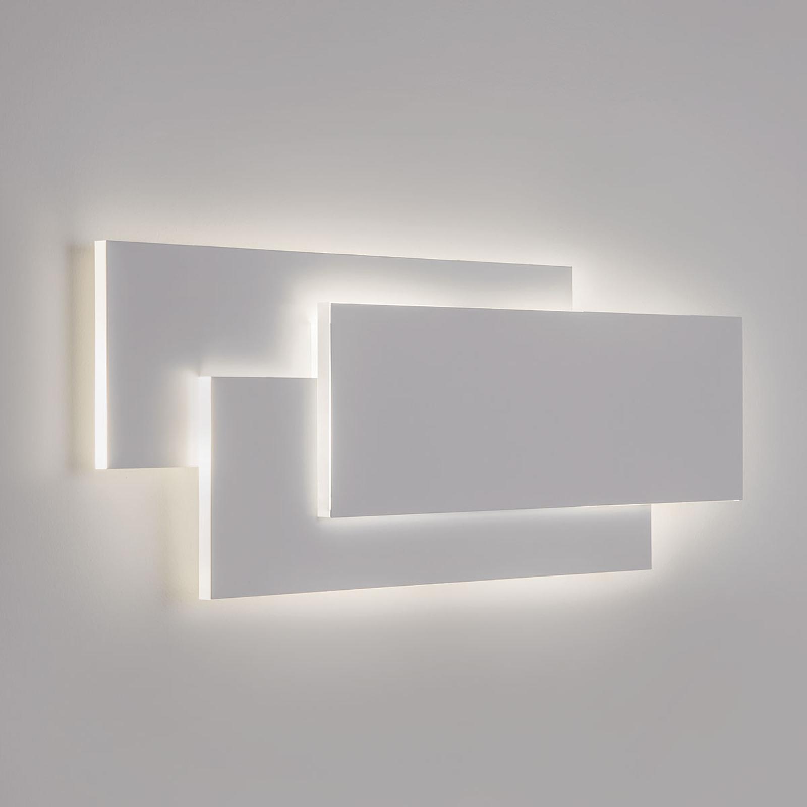 Acquista Applique a LED Edge bianca, design ultramoderno