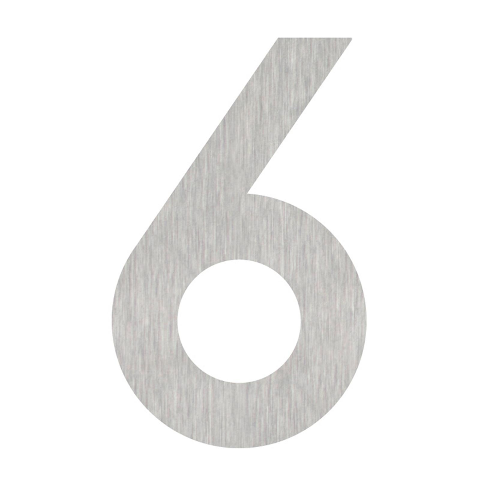Produktové foto Heibi Domovní čísla číslice 6