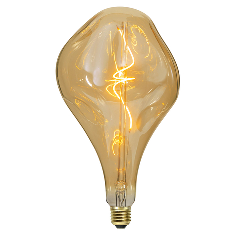 LED-lamp E27 3,8 W amber, dimbaar