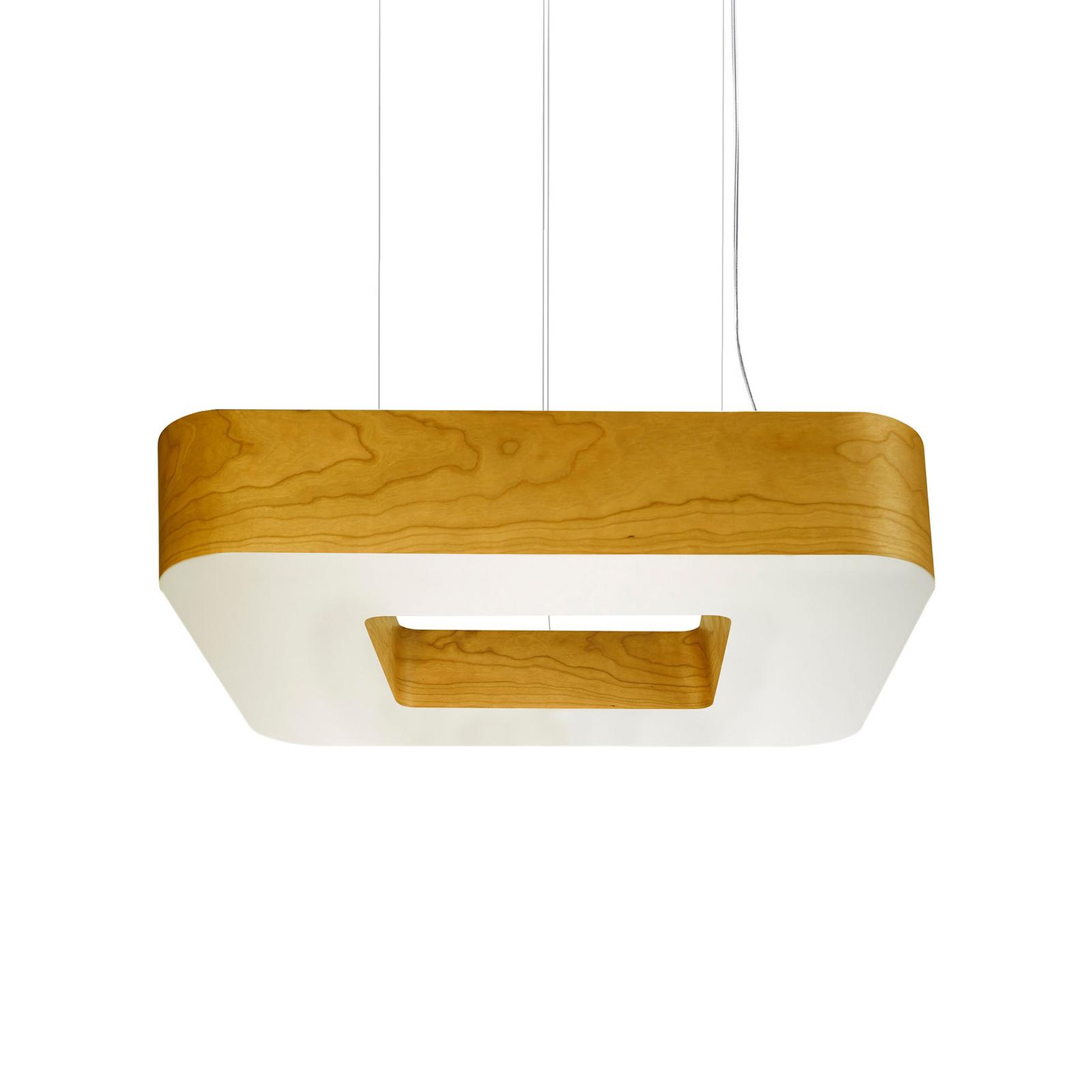 LZF Cuad LED-Hängeleuchte 0-10V dim, gelb