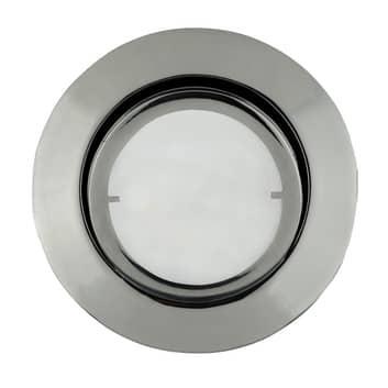 Runde LED-Einbauleuchte Joanie, chrom