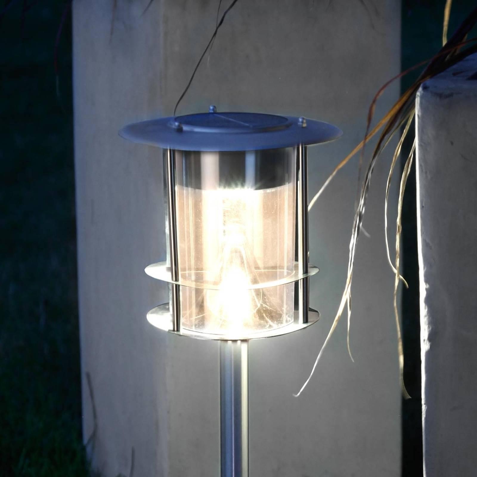 Lampa solarna LED Garden Stick z grotem ziemnym