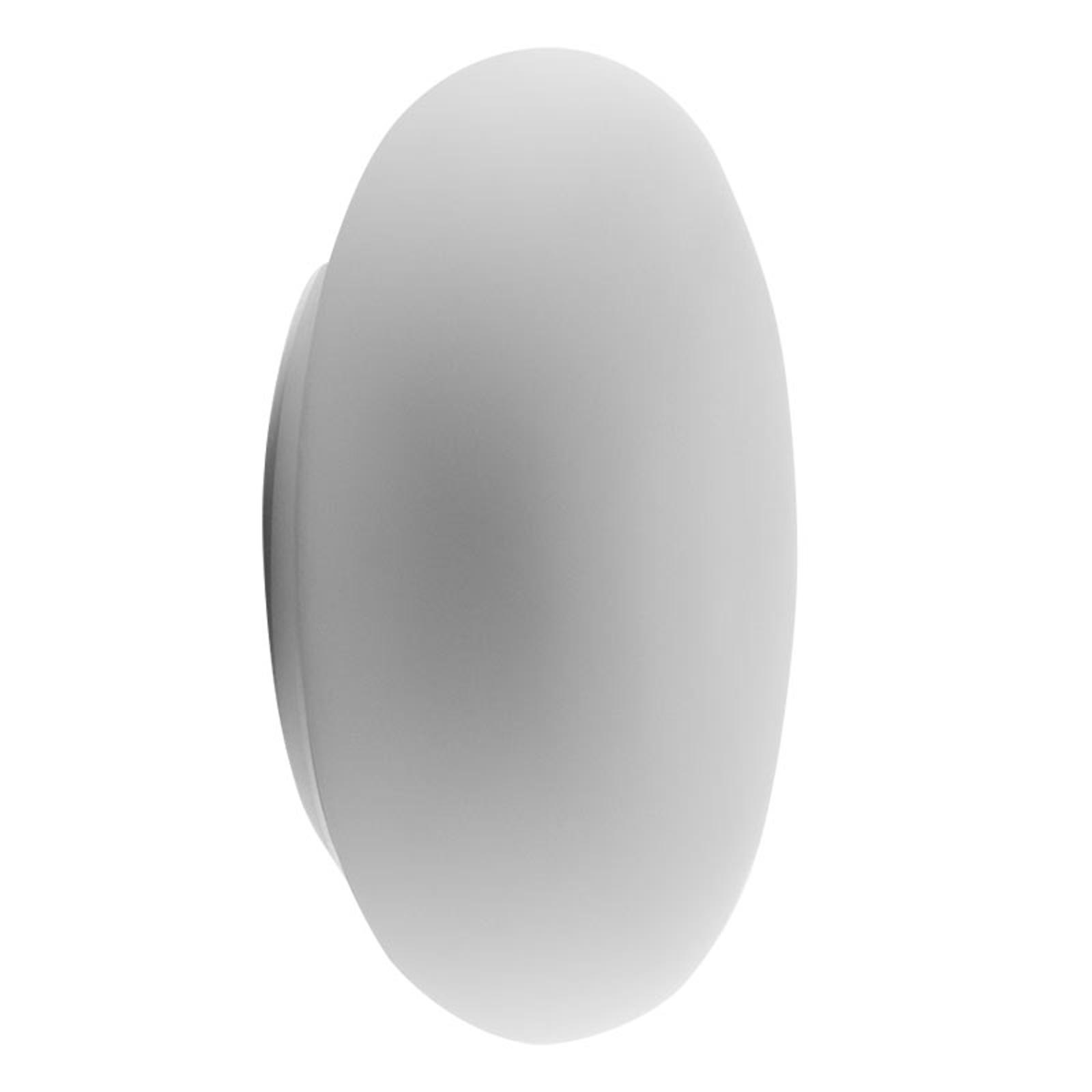Artemide Itka glasvägglampa IP65 Ø 50 cm