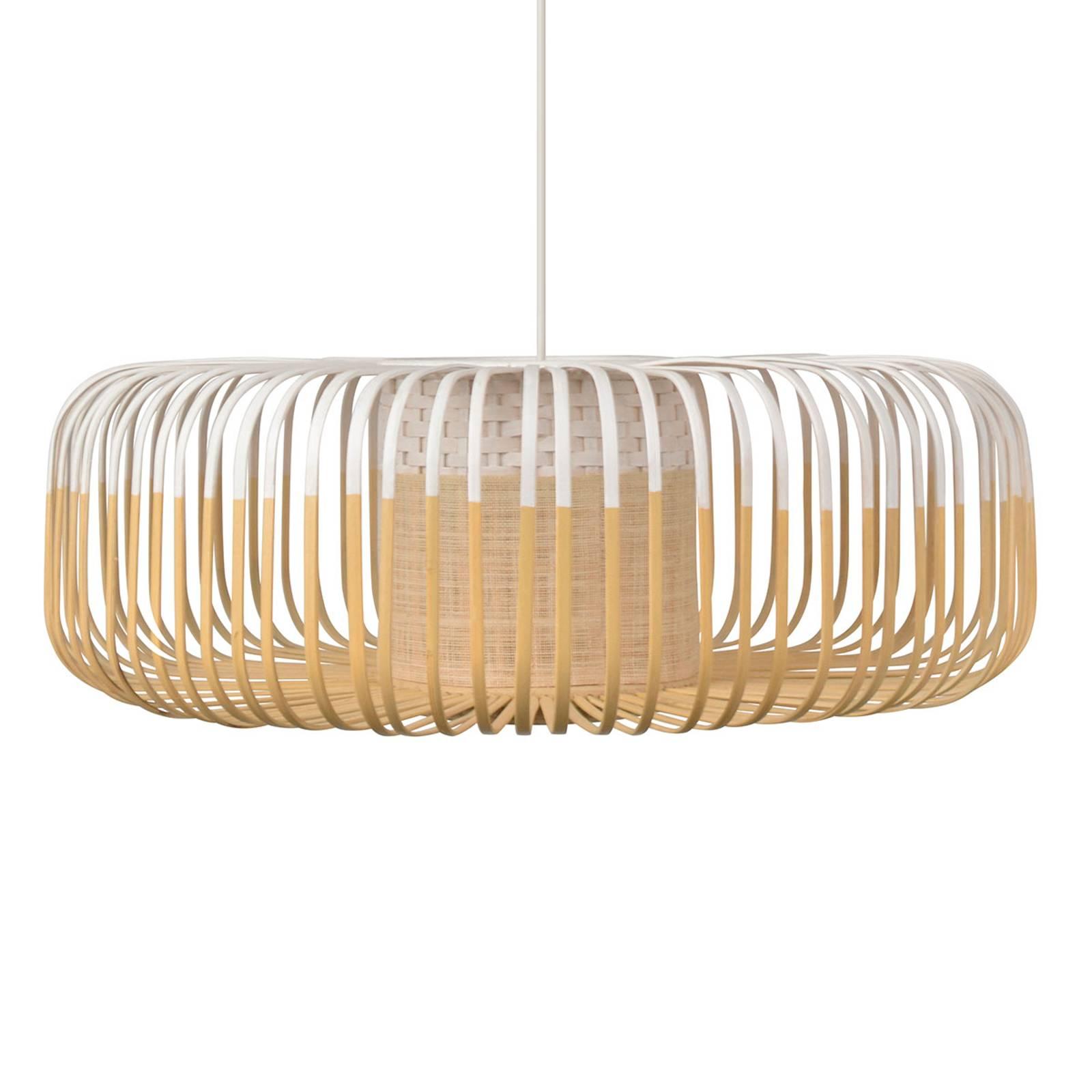 Forestier Bamboo Light XL hanglamp 60 cm wit