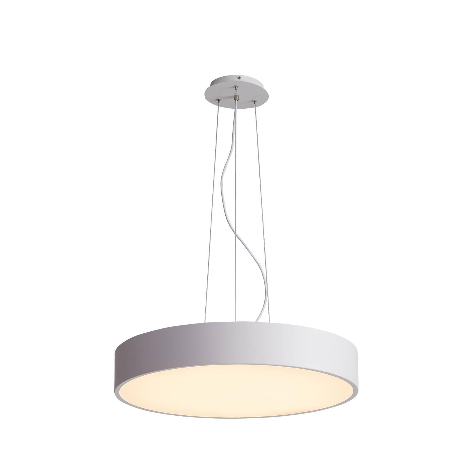 Arcchio Noabelle suspension LED, blanche, 40cm