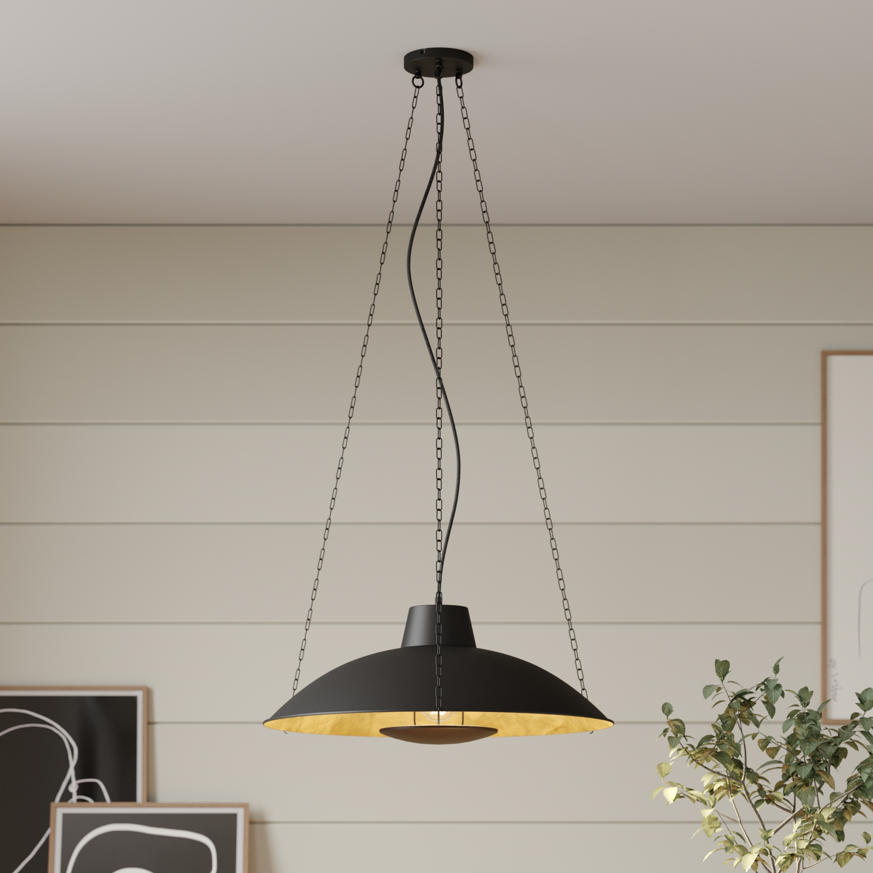 Lucande Kymra lampa wisząca