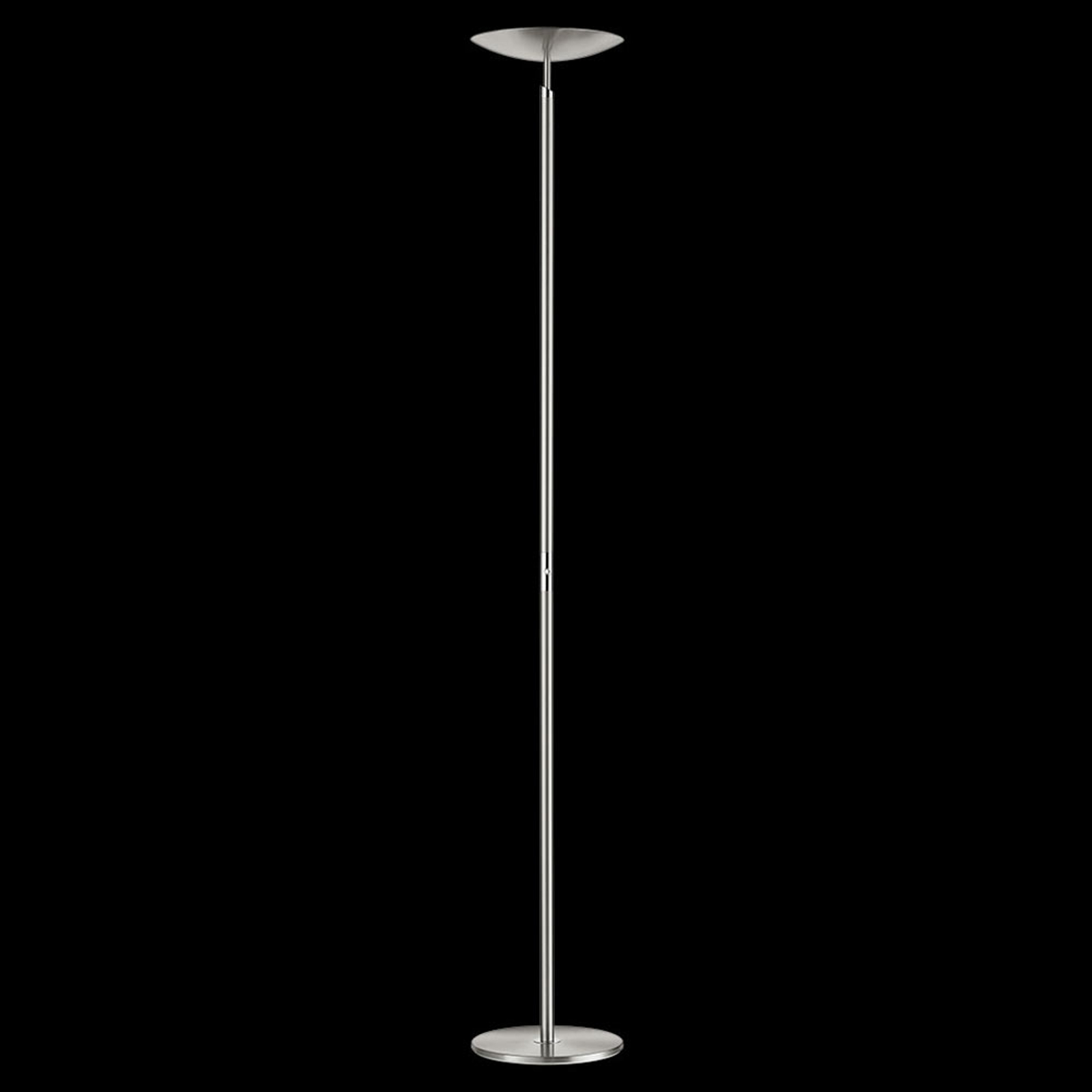 Lampadaire à éclairage indirect LED Nikolei