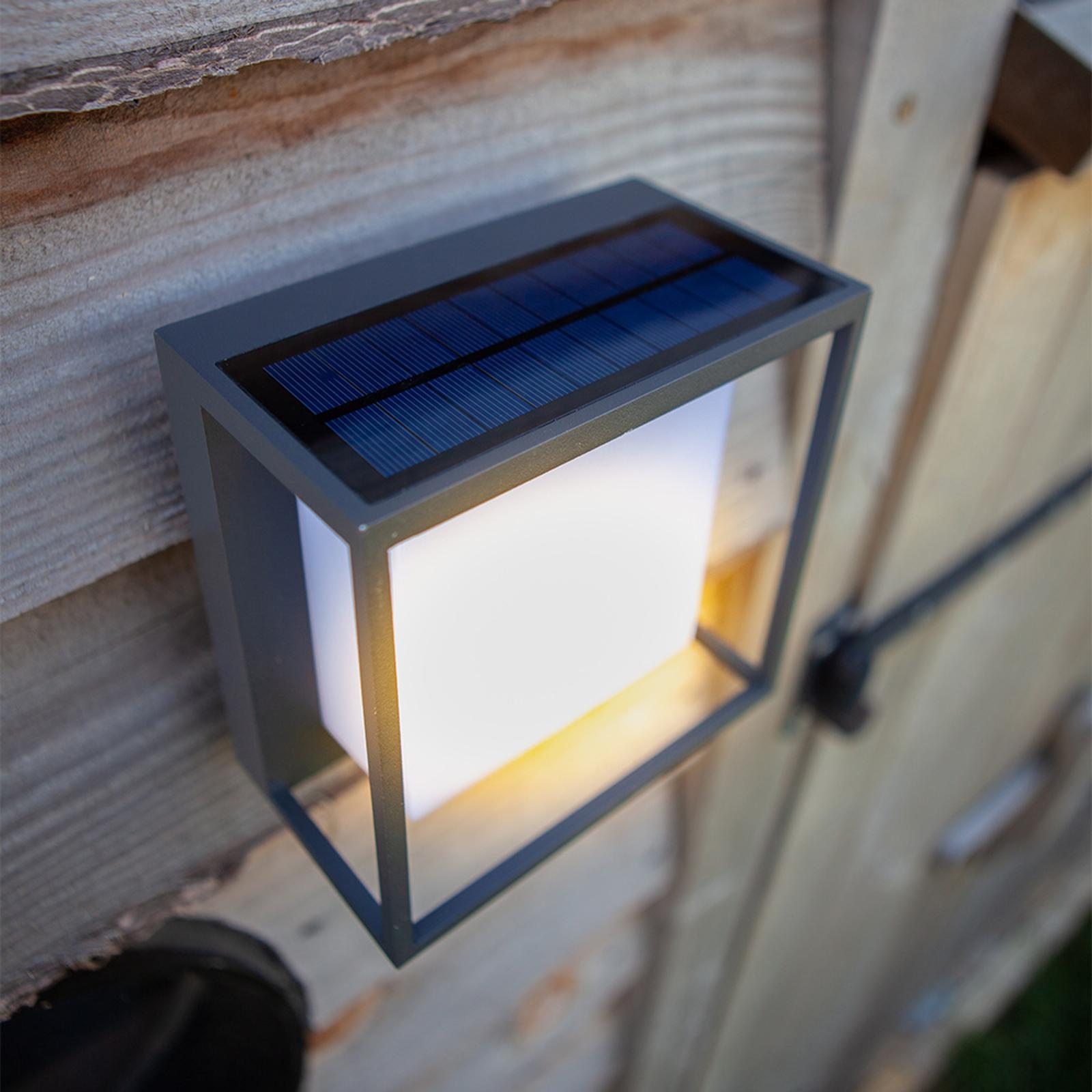 LED-Solarleuchte Curtis mit Bewegungssensor