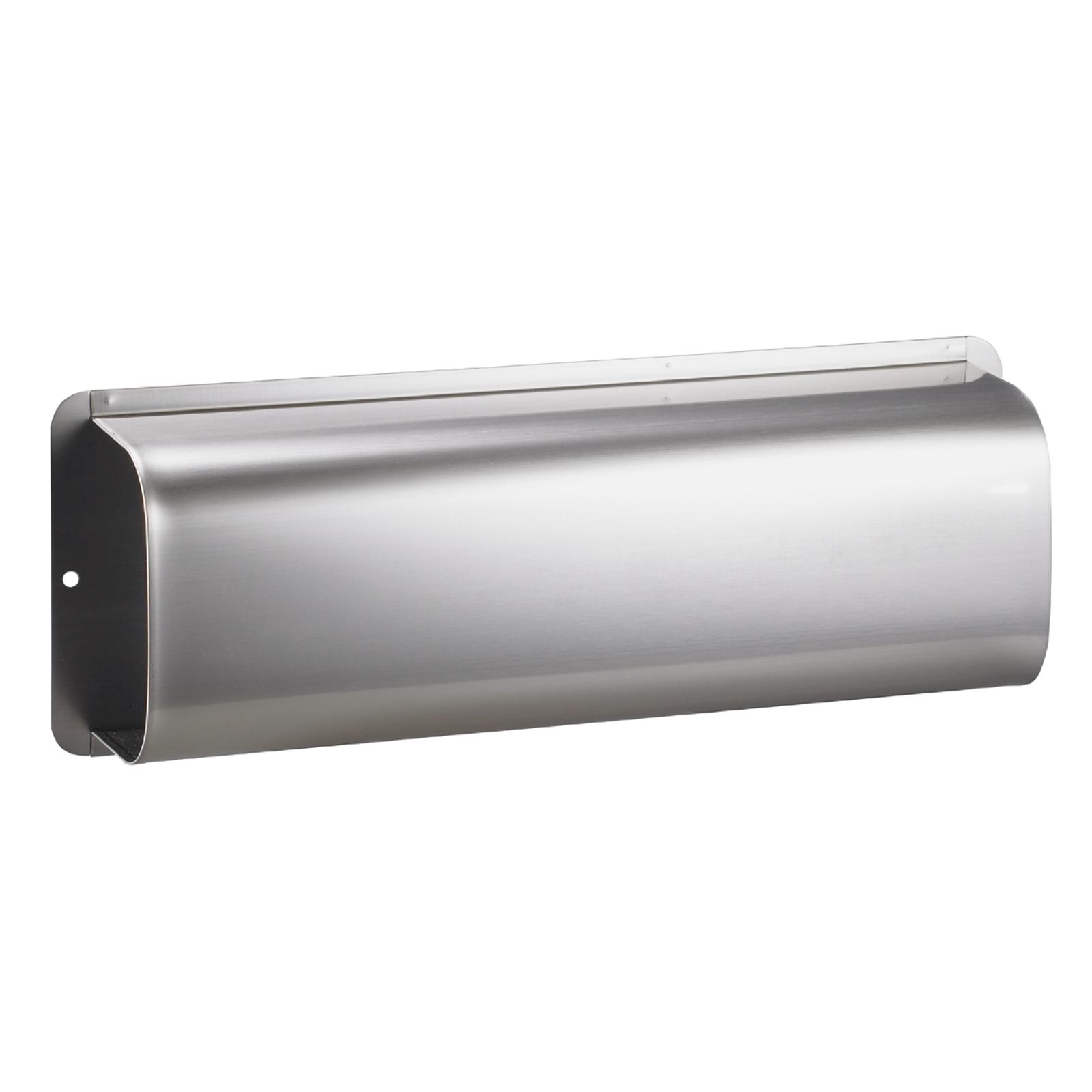 Avisboks, rustfrit stål, passer til postkasse RAIN