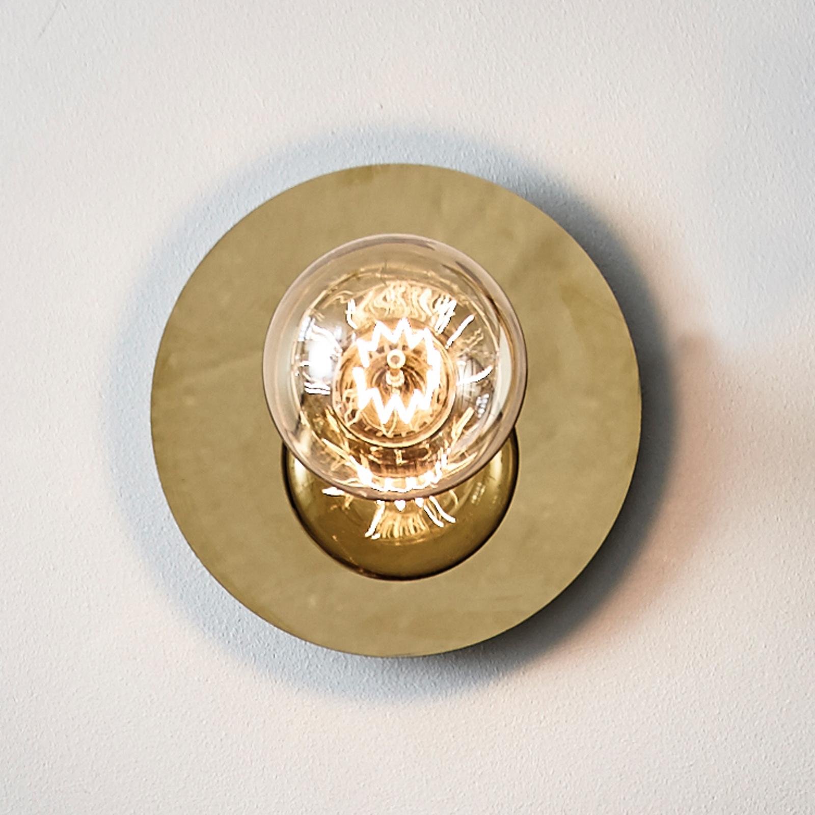 Okrągła lampa ścienna Disc