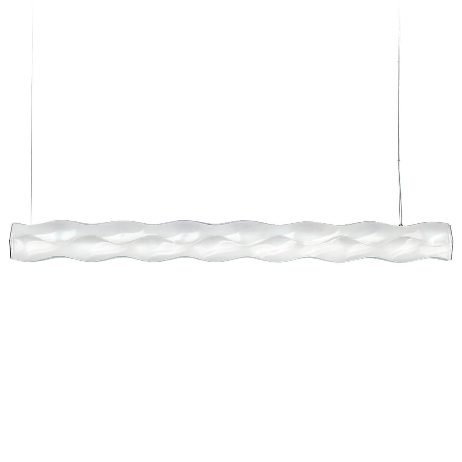 Slamp Hugo White LED-Designerhängeleuchte