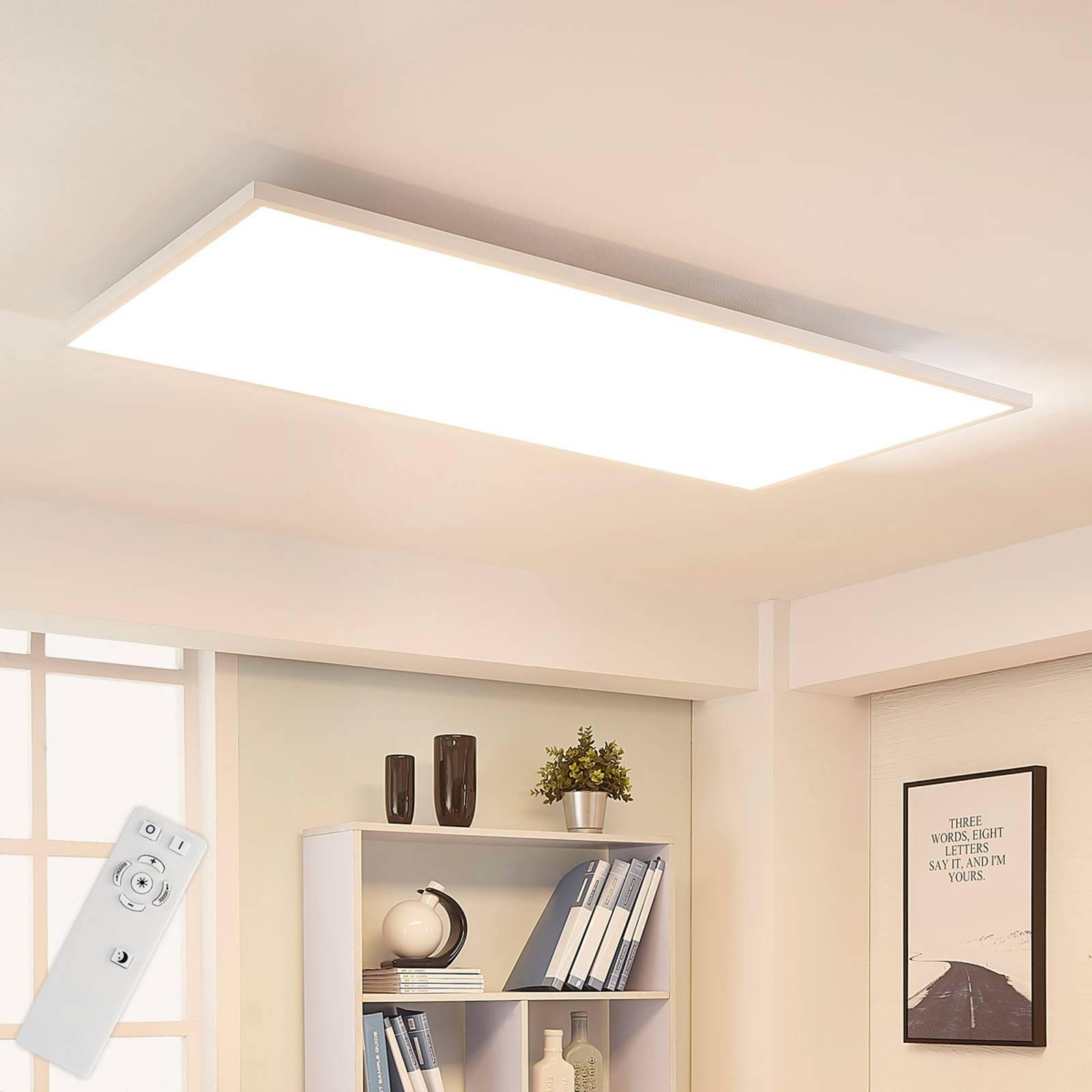 Arcchio Arya pannello LED, dimming, 119 cm x 59 cm