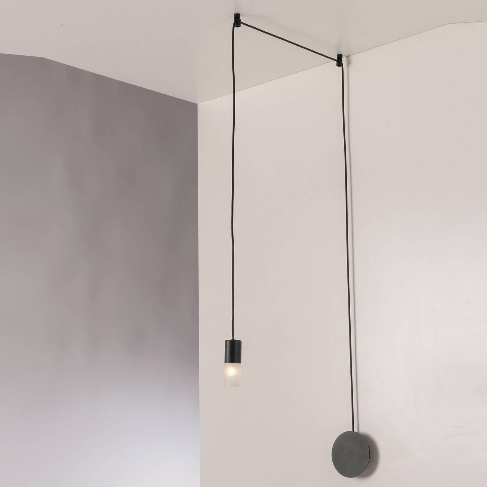 Hanglamp Spider decentraal 1-lamp, antraciet