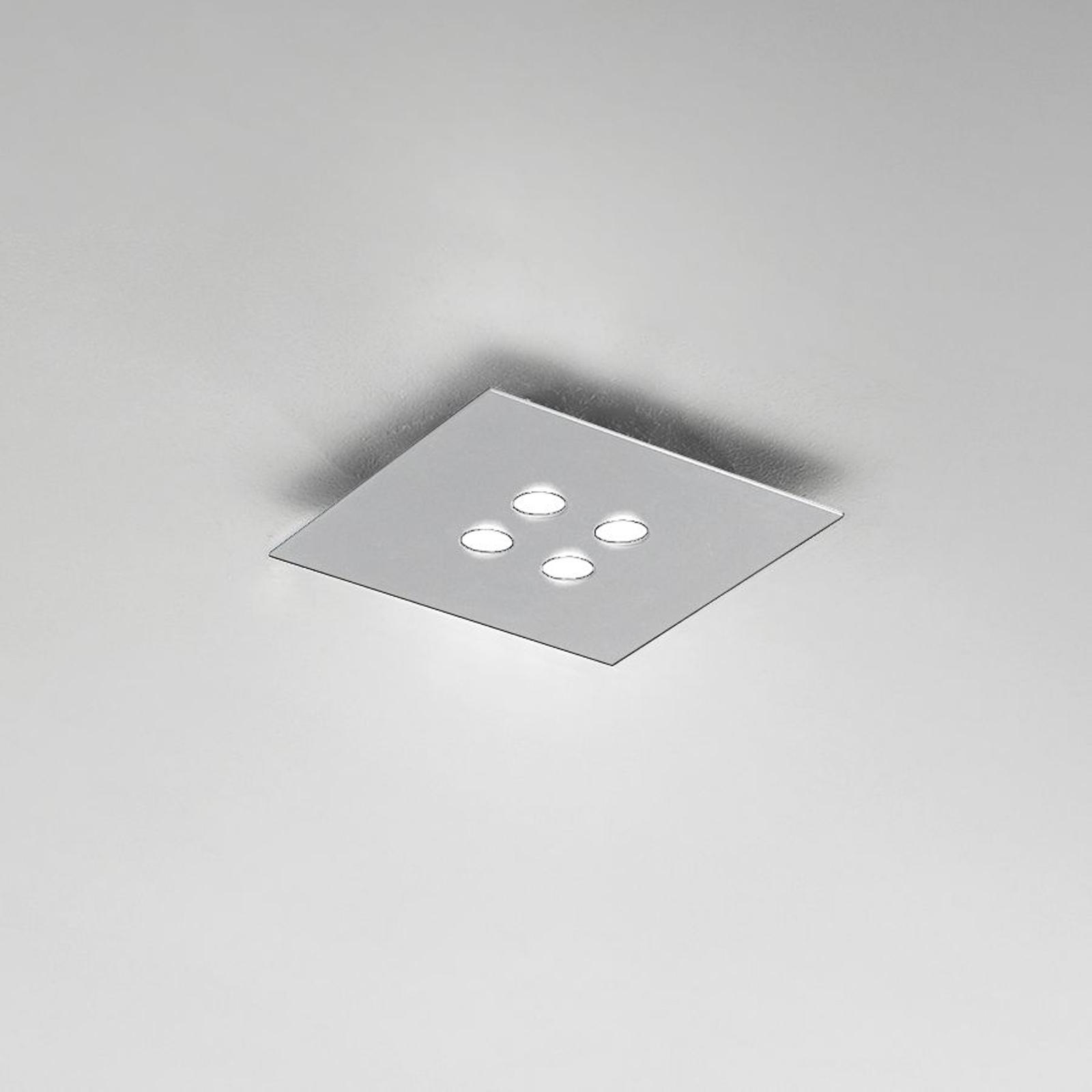 ICONE Slim - LED-Deckenleuchte 4-fl. weiß