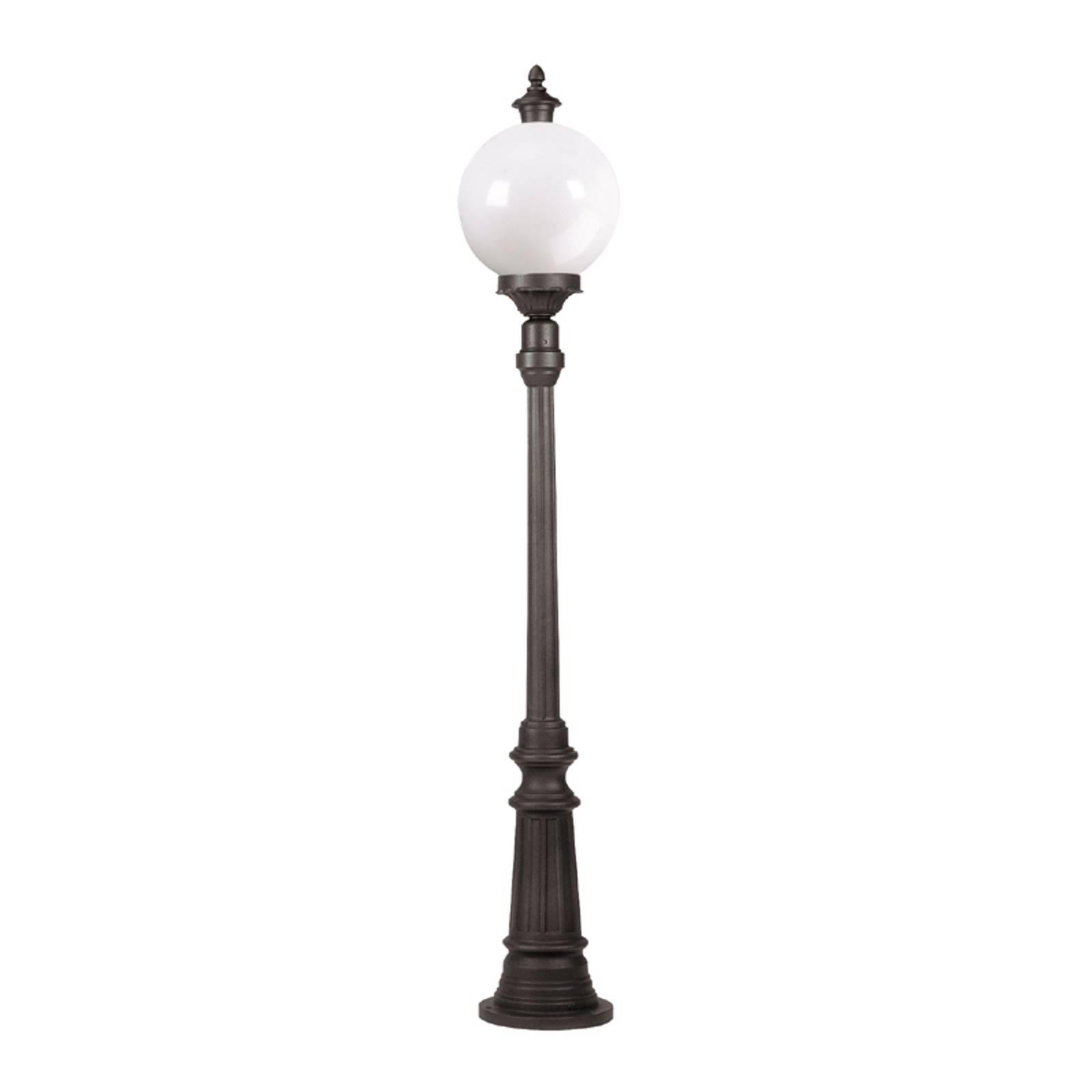 Stylowa latarnia Madeira 1-pkt., antracyt