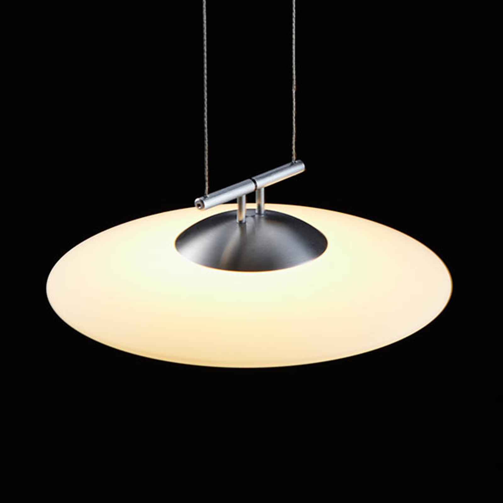 LDM Lunaled Grande Uno LED-Hängeleuchte, matt