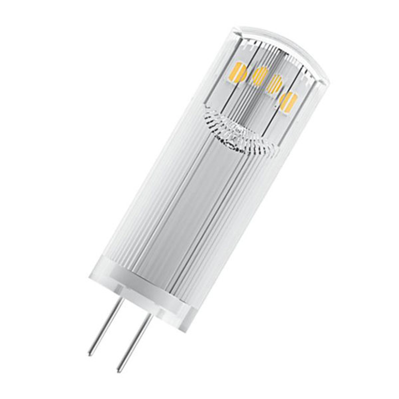 OSRAM LED-Stiftsockel G4 1,8W 2.700K klar 2er-Pack