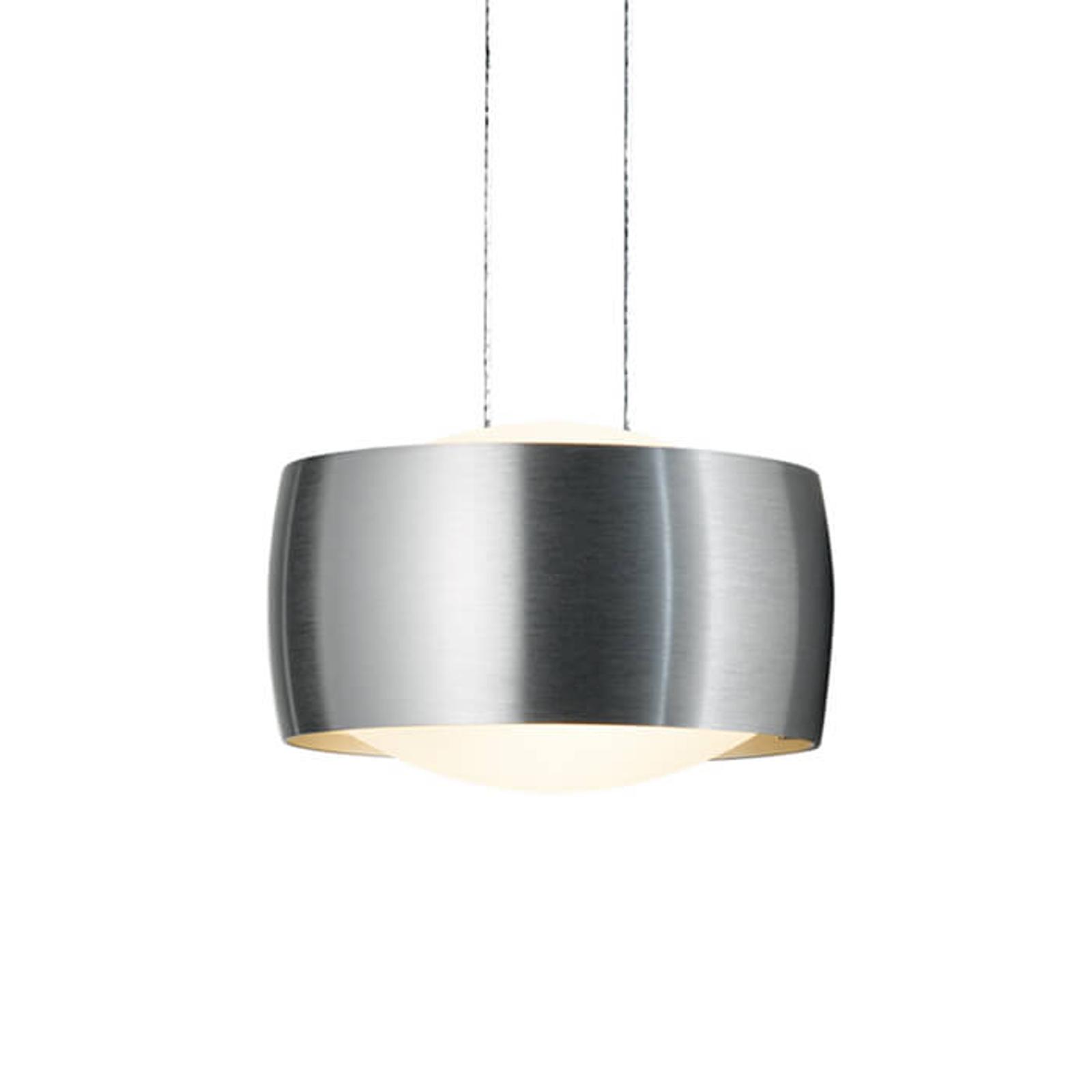 OLIGO Grace LED-Hängeleuchte 1flg. aluminium