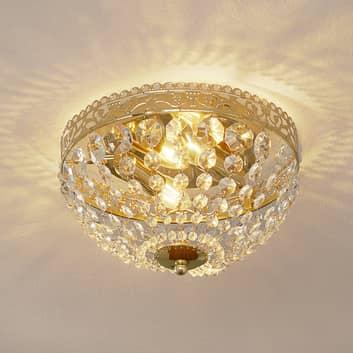 Funklende loftslampe Saxholm